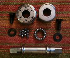 Vintage Dura Ace 112mm French Threaded Bottom Bracket Complete 35 x P1