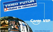 VIDEO FUTUR - CARTE VIP RARE