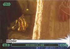 "Star Wars Jedi Legacy - Green Parallel Card 31A ""Mechanical Arm"""