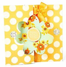 Sizzix Flower Flip-Its Card #657589 Movers L Base die Retail 29.99 FUN!