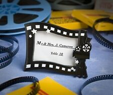 50 Hollywood Movie Themed Place Card / Photo Frame Themed Wedding Favors