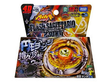 Takara Tomy Japanese Beyblade Metal Fight BB 126 Flash Sagittario 230WD+LAUNCHER