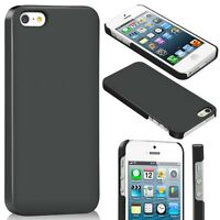 Ultra Slim Thin Plastic Hard Case Cover Shell Armour Shield For iPhone 5 5S SE