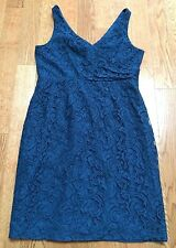 NWT J Crew SARA DRESS IN LEAVERS LACE Size 14