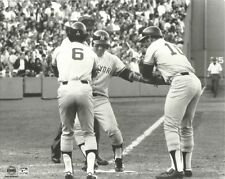 BUCKY DENT 8x10 Vintage B&W Action Photo NEW YORK YANKEES vs Red Sox HR @ Fenway