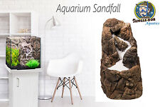 AQUARIUM SAND FALL WATERFALL for FISH TANKS - COMPLETE SET WITH SAND PUMP