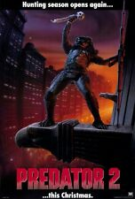 "PREDATOR 2 Movie Poster [Licensed-NEW-USA] 27x40"" Theater Size 1990"
