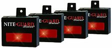 Nite Guard Solar Predator Control Light, 4-Pack , New, Free Shipping