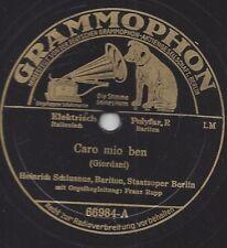 Heinrich Schlusnus singt Giordani + Händel : Caro mio ben + Largo aus Xerxes