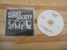 CD Punk The Crack Whore Society - Same (14 Song) Promo ANGORA STEEL