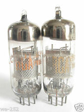 2 matched 1963 Siemens/RCA 6EJ7 EF184 tubes - TV7B tested @ 49, 52, min:39
