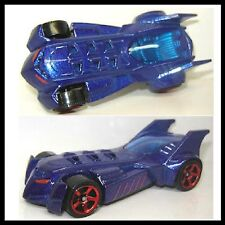 5 of 10 MBX CITY 2012 GOTHAM CITY Batmobile PEARL BLUE PAINT New SEALED Package!