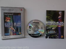 Dead Gold Alive 2 Platinum - GAME PLAYSTATION 2 - PS2 - with record