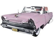 1956 LINCOLN PREMIERE OPEN CONVERTIBLE PINK 1/18 PLATINUM EDITION SUNSTAR 4656
