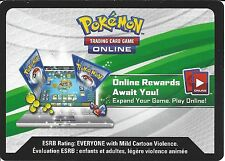 POKEMON XY CODE CARD FROM THE MEGA MEWTWO BOX Y