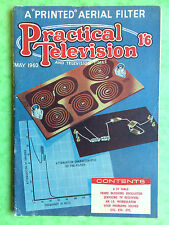 PRACTICAL TELEVISION - May 1960 - A Printed Aerial Filter - Vintage Magazine