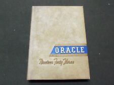 1943 THE ORACLE COLBY COLLEGE YEARBOOK - WATERVILLE MAINE - NICE PHOTOS - YB 325