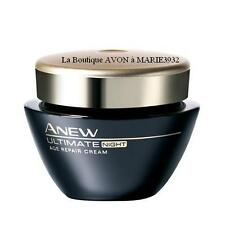 NOUVELLE Creme de NUIT ULTIMATE 7S  anti-rides ANEW AVON NEUF