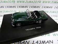 voiture 1/43 UNIVERSAL HOBBIES /eagle's race : TRIUMPH TR3A verte