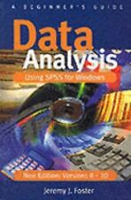 Data Analysis Using SPSS for Windows Versions 8 - 10 by Jeremy J. Foster...