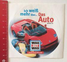 Aufkleber/Sticker: Was Ist Was - Ich Weiß Mehr Über Das Auto Band 53 (140316106)