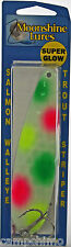 "MOONSHINE LURES GLOW IN THE DARK MAGNUM 5"" TROLLING SPOON - BREAD WINNER"
