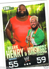 Slam Attax Tac Team - Mark HENRY & HORNSWOGGLE