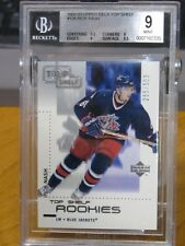 RICK NASH 2002-03 Upper Deck Top Shelf Rookie Card #126 RC 285/500 BGS 9 MINT