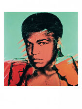MUHAMMED ALI, 1977 by Andy Warhol Pop Art Print - Offset Lithograph Muhammad OOP
