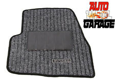 Premium Quality Car Carpet Floor Mats for Hyundai Santro Xing- Black - 5pc