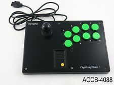 Hori Fighting Stick SS Sega Saturn Tested Controller Japanese Import US Seller
