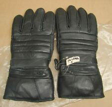 Vtg NOS Mens Motorcycle Gauntlet Riding Gloves Insulated Rain Covers GL2066 (S)