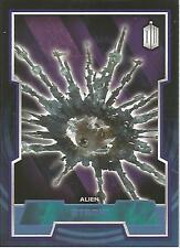 "Topps Doctor Who 2015 - No. 54 ""Atraxi"" Blue Parallel Card #105/199"