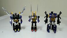 Vintage a set of 3 Transformers G1 Insecticons 1980-1983 Hasbro Takara