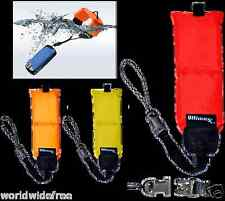Universal  Orange Floating Wrist Strap Studio Series GoPro DSLR's/Cameras Afloat
