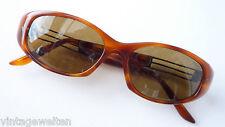 Design Italy große Cateye Damen Sonnenbrille innen entspiegelt braun hochwertig