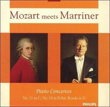 Mozart Meets Marriner: Piano Concertos (CD, Aug-2006, Philips)New w/Free Ship!