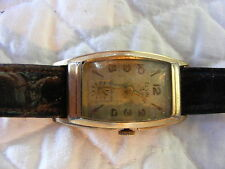 Vintage 1951 Elgin Wrist Watch 14K Gold Filled Running