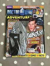 DOCTOR WHO ADVENTURES MAGAZINE Issue 201 With Free Gifts - Free Postage