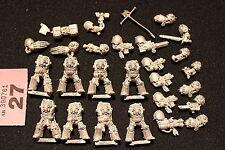 Warhammer 40k Space Marines Terminators x8 Metal Figures Job Lot Games Workshop