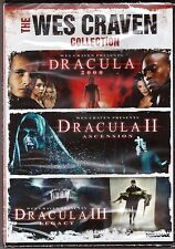 The Wes Craven Collection Dracula 2000/Dracula II/Dracula III - DVD BRAND NEW