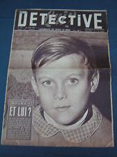 Détective 1957 573 LANFROICOURT SAINT JULIEN LES ROSIERS SART DAME AVELINES