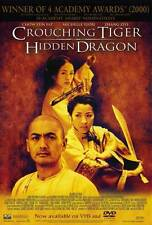CROUCHING TIGER HIDDEN DRAGON Movie POSTER 27x40 B Chow Yun-Fat Michelle Yeoh