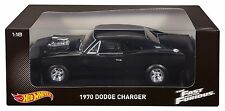 Hot Wheels The Fast and the Furious 1/18 1970 Dodge Charger R/T Diecast Car