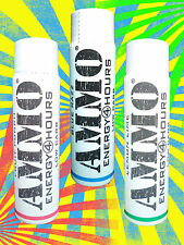Ammo Energy Shot - 3 Flavor Variety Pack! 12 SHOTS- 4x Blue - 4x Red - 4x Green!