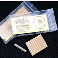 20PCS SAVINELLI 6mm Filters South America balsa wood Pipe Filters