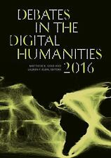 VG, Debates in the Digital Humanities 2016, , 0816699542, Book