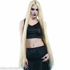 "Very Long Blond Wig Godiva Fairytale Princess Halloween Costume Hair 40"" 102cm"