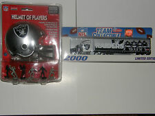 NFL Raiders .  ..helmet / tractor-trailer    2000 limited edition