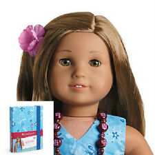American Girl KANANI DOLL + Bonus PHOTO album for GIRLS Same Bus Day Ship + BOOK